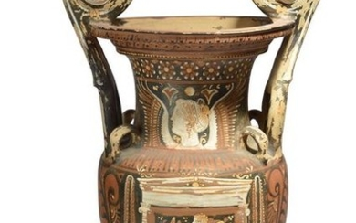 An Apulian red-figure volute krater circa 4th century...