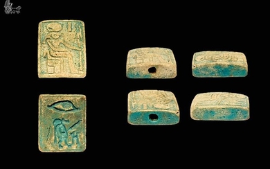 Ancient Egyptian Earthenware Booklet / Amulet