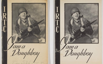 BOOT CAMP SOLDIER'S BOOKS, ONE BELONGING TO K.I.A. CORPORAL