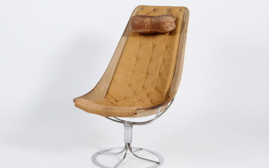 Bruno Mathsson. Lounge chair, Model Jetson