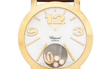 CHOPARD HAPPY DIAMONDS HAPPY SUN. 18K YELLOW GOLD. REF. 4176.