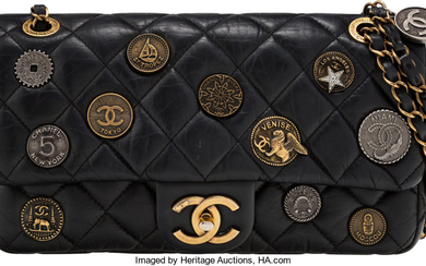 Chanel Limited Edition Medallion Quilted Flap Bag Condition: 2...
