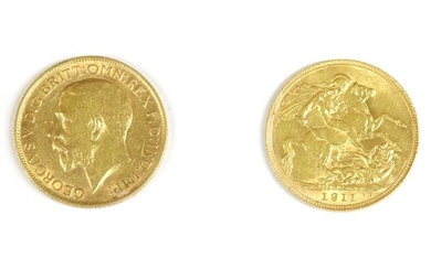 Coins, Great Britain, George V (1901-1936)