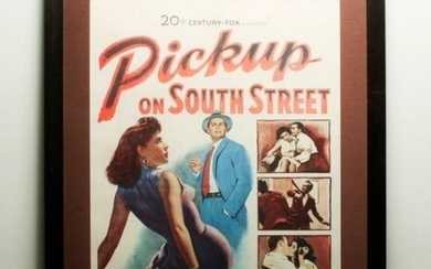 Collectible 1953 Pickup On South Street Lithograph