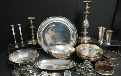 Collection of Silverplate