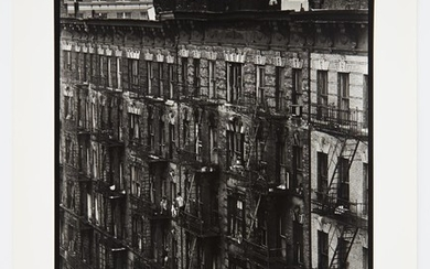 DAVIDSON, BRUCE (b. 1933) Facade (from East 100th Street),