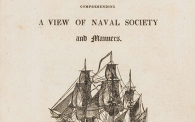 First naval novel.- [Davis (John)] The Post-Captain; or, The Wooden Walls well manned; comprehending a view of naval society and manners, rare first edition of the first 'naval novel', Thomas Tegg, 1806.