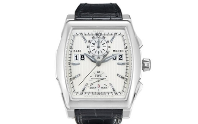 IWC   A LIMITED EDITION HEAVY PLATINUM PERPETUAL CALENDAR CHRONOGRAPH WRISTWATCH WITH LEAP YEAR INDICATION, CRCA 2009