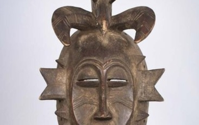Kpeliye Mask - Wood - Senufo - Ivory Coast