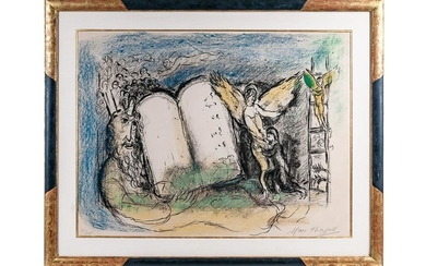 "MARC CHAGALL: ""VISION OF MOSES"""