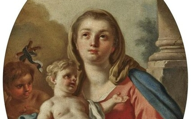 Madonna and Child and John the Baptist as a Boy