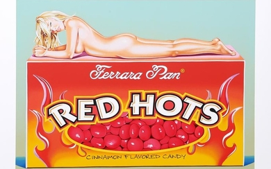 Mel Ramos, Red Hots, Lithograph