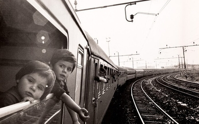Mimmo Jodice (1934), Untitled (On the train), 1975