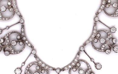 Platinum Diamond NecklaceÊ