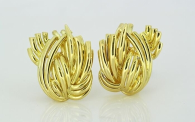 Tiffany - 18 kt. Yellow gold - Earrings