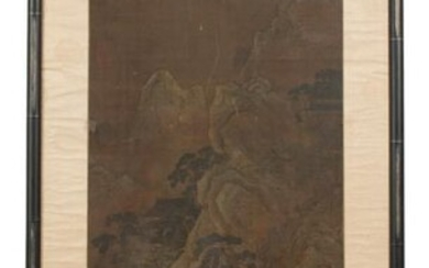 Unsigned Chinese Landscape Painting, Ming
