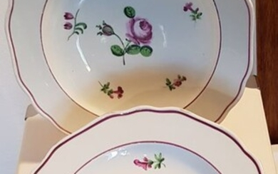 Viennacouple porcelain dishes - 18th/19th century - Porcelain