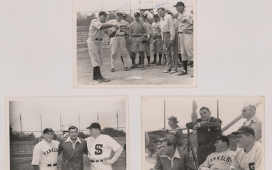 The Babe Ruth Story Vintage Publicity Photos (3)