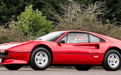 1981 Ferrari 208GTB, Coachwork by Pininfarina Registration no. TDV 68W Chassis no. F106CB33911