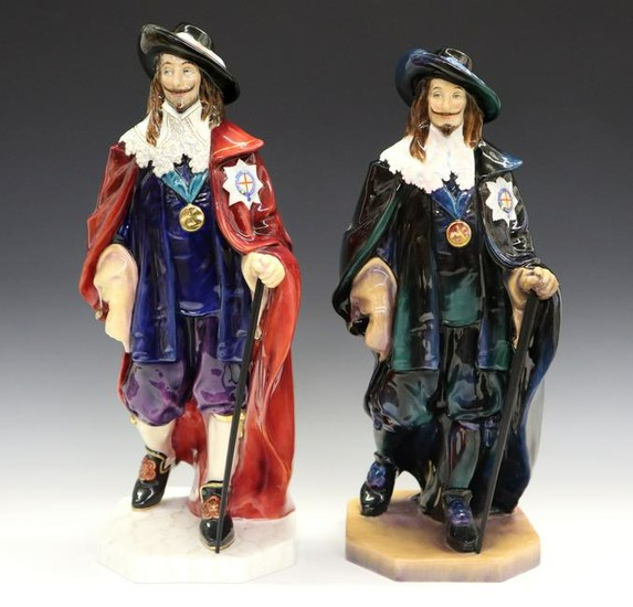 2 Royal Doulton Porcelain Figures
