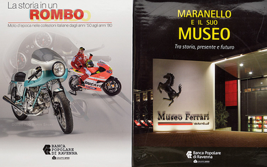 A LOT OF TWO VOLUMES ABOUT CLASSIC CARS AND MOTORBIKES