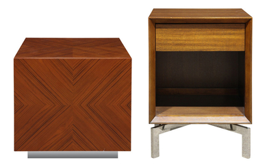 A group of Mid-Century Modern style cabinets