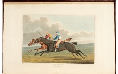 ALKEN | The national sports of Great Britain, 1821
