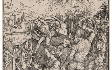 Albrecht Dürer (1471-1528) The Martyrdom of Saint Catherine