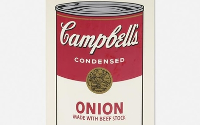 Andy Warhol, Onion Soup Can