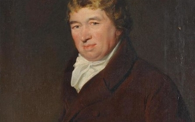 Attributed to John Jackson (British 1778-1831)Portrait of a gentleman thought to be Daniel O'Connell (1775-1847)