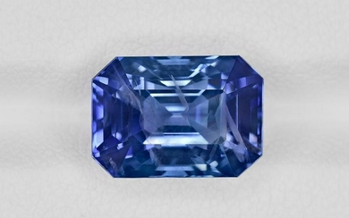 Blue Sapphire, 9.18ct, Mined in Sri Lanka, Certified by