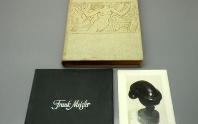 Collection of 3 Items about Jewish Sculptor Artists