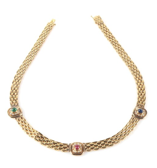 Farbstein Brillant Collier