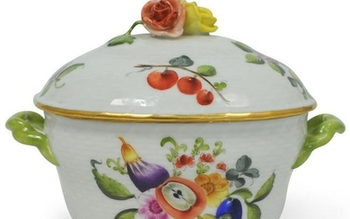 Herend Porcelain Sugar Bowl