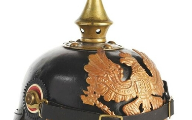 IMPERIAL GERMAN PRUSSIAN M1895 ENLISTED PICKELHAUBE.