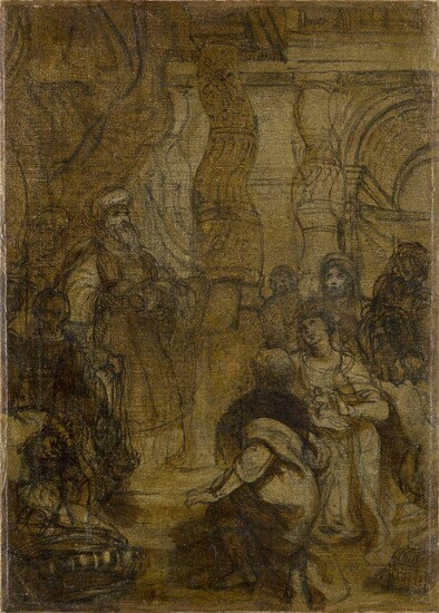 Italian School, late 18th/early 19th century- Presentation in the Temple;...