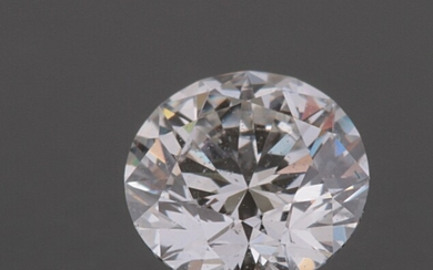 Loose brilliant cut diamond 0.25ct