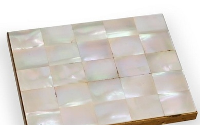 Mother of Pearl Compact Case
