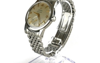 OMEGA, SEAMASTER, A VINTAGE STAINLESS STEEL GENT'S WRISTWATC...