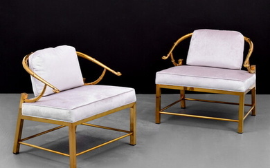 Pair of Charles Pengally Arm Chairs