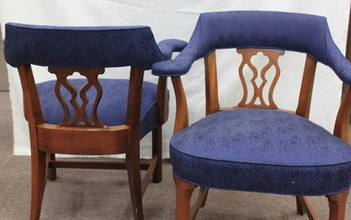 Pair of Modern Contemporary David Edward Armchairs