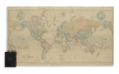 STANFORD, EDWARD. Stanford's Library Map of the World on Mercator's Projection.