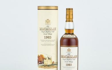 The Macallan 18 Year Old 43.0 abv 1983 (1 BT70)