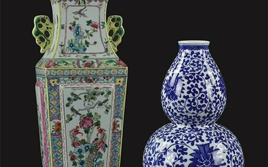 Two Chinese Porcelain Vases.