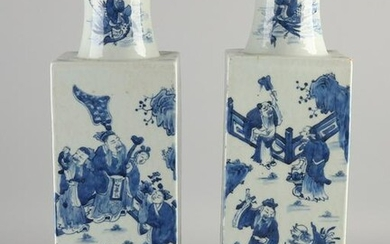 Two large rare 17th - 18th century Chinese porcelain