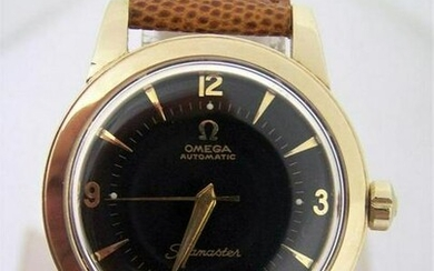 Vintage 14k GF OMEGA Automatic Watch 1950s Ref G6250