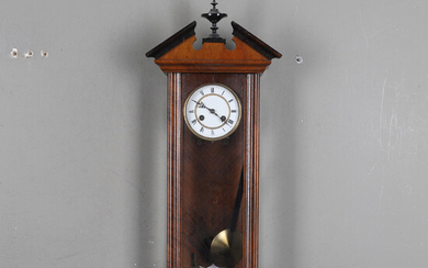 WALL CLOCK, Junghans, late 19th century.