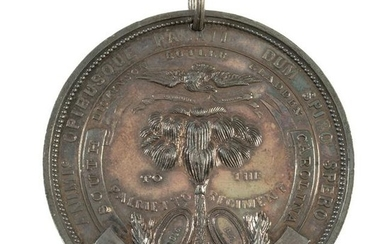 Silver Palmetto Medal Awarded to Sergeant Thomas Beggs