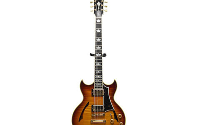A Gibson Johnny A Signature model electric guitar