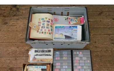 A Large collection of stamps mostly in Albums. Needs Viewing...